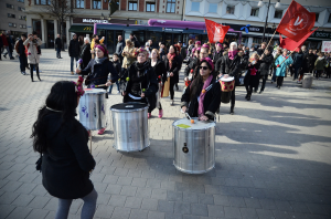 8mars demo i Örebro