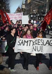 8mars demo i Örebro1