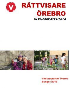 Budget Örebro kommun 2018